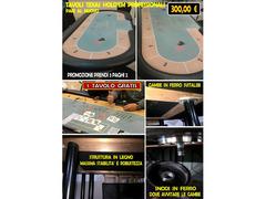 3 tavoli texas holdem poker PAGHI 2 PRENDI 3
