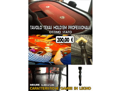 Tavolo texas hold em poker ( professionale )