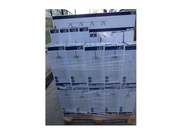 Stock  articoli illuminazione led 6300 pezzi - 3