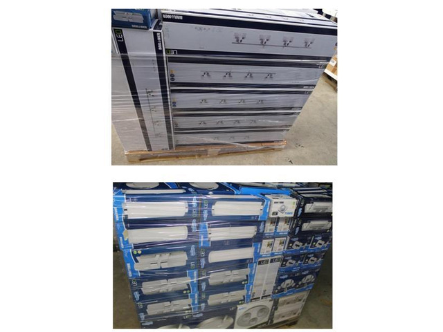 Stock  articoli illuminazione led 6300 pezzi - 5