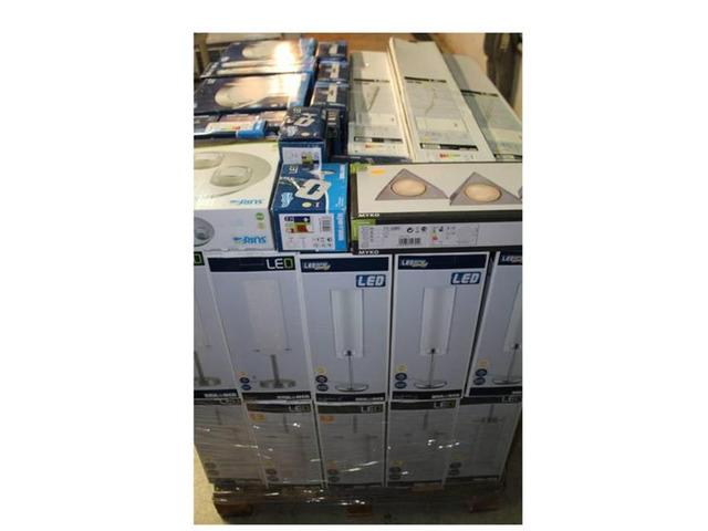 Stock  articoli illuminazione led 6300 pezzi - 9