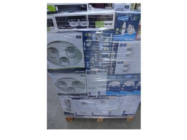 Stock  articoli illuminazione led 6300 pezzi - 12