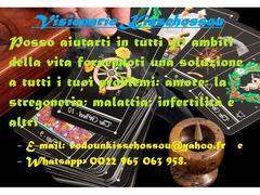 Problemi: amore; la stregoneria; malattia; infertilità