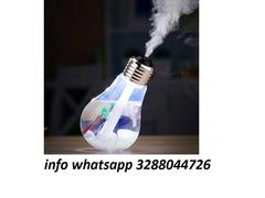 Diffusore lampadina profumo umidificatore aromaterapia acqua usb