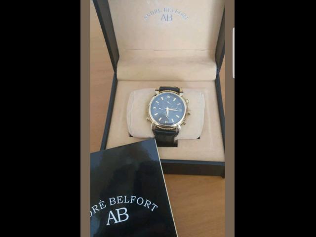 Orologio André Belfort Adventure oro