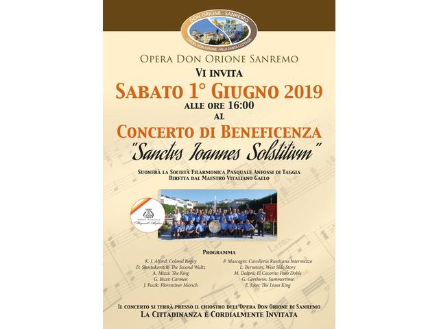 Vitaliano Gallo Conducting: Philarmonic  Society P. Anfossi  1° June 2019