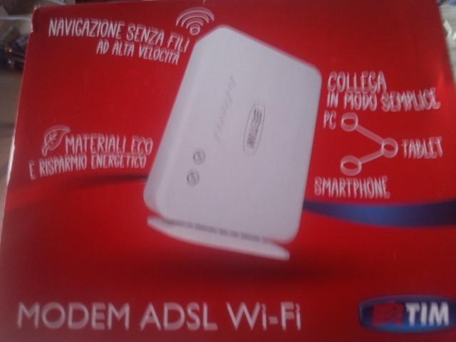 Modem adsl 2+ wi-fi telecom italia - 1/1