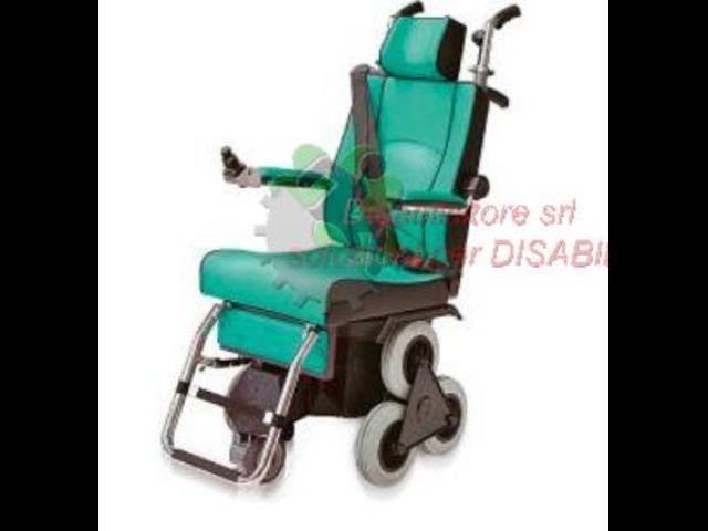 saliscale a ruote tgr scoiattolo 2000 con motorizzazione a ruote
