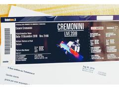 Vendo Biglietto concerto Cesare Cremonini