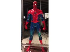 Spiderman statua in resina
