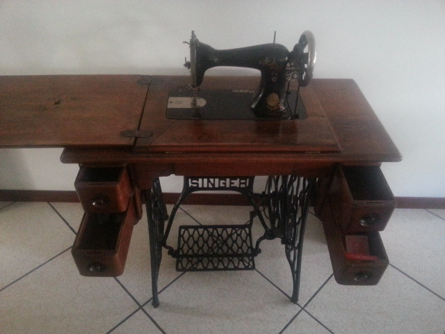 Vintage Macchina da cucire Singer - 3/8