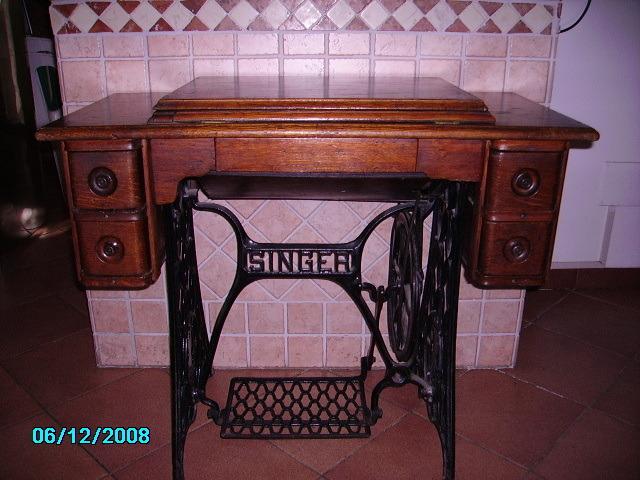 Vintage Macchina da cucire Singer - 6/8