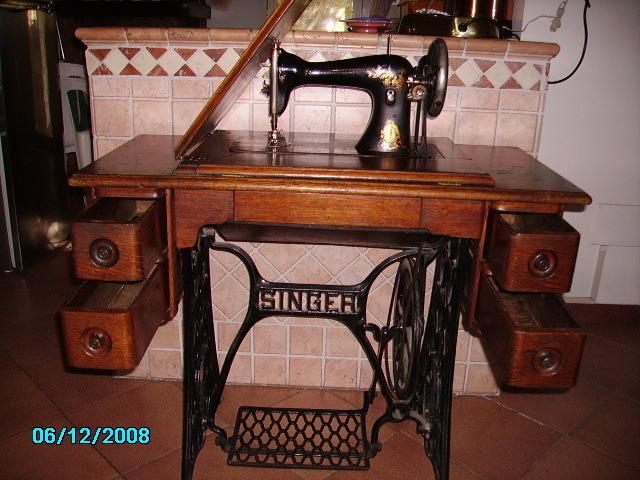 Vintage Macchina da cucire Singer - 8/8