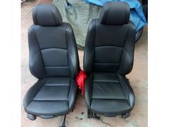 Sedili interno in pelle nera BMW serie 1 E87