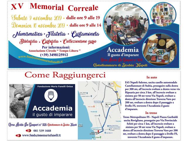 Collezionismo: A Castellammare di Stabia il XV Memorial Correale, il 9 e 10 Novembre 2019 - 12