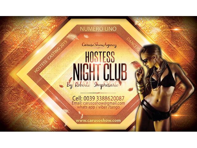 Roma-Offro Lavoro In Night Club Cerco Figurante Di Sala Hostess Ragazza Immagine - 2