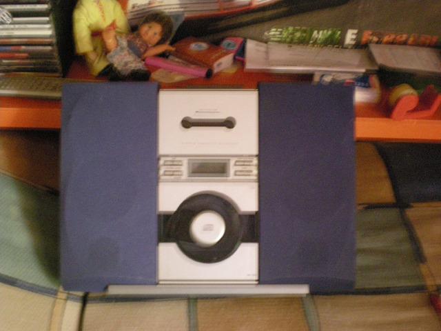 Lettore cd/lettore per cassette /radio - 1