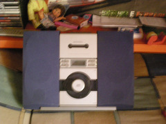 Lettore cd/lettore per cassette /radio