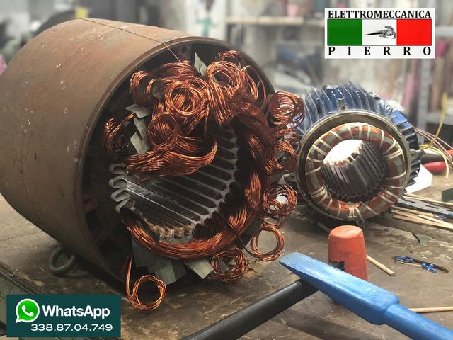 Elettromeccanica Pierro officina specializzata nella riparazione,vendita,assistenza elettromeccanica - 5