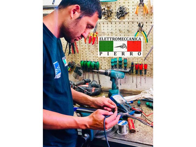 Elettromeccanica Pierro officina specializzata nella riparazione,vendita,assistenza elettromeccanica - 7