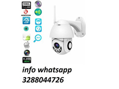 Telecamera wifi ip mini speed dome da esterno ip66 2 mpx 1080p