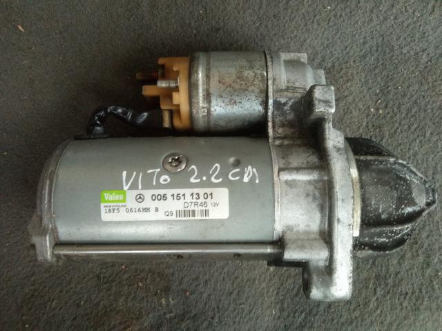Motorino d'avviamento Mercedes Vito 2.2 CDI del 05