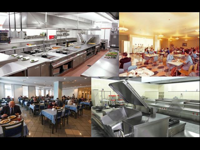 Chef per RSA, Mensa aziendale, self service