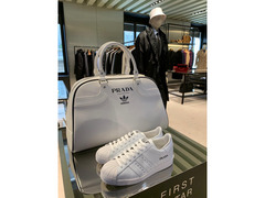 Prada Adidas Limited Edition Sneaker Superstar Bowling Bag (only 700 in the world)