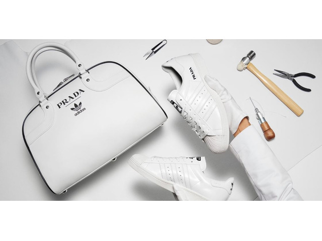 Prada Adidas Limited Edition Sneaker Superstar Bowling Bag (only 700 in the world) - 3/11