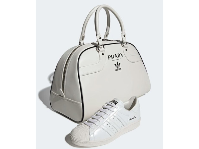 Prada Adidas Limited Edition Sneaker Superstar Bowling Bag (only 700 in the world) - 4/11