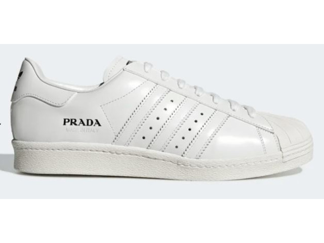 Prada Adidas Limited Edition Sneaker Superstar Bowling Bag (only 700 in the world) - 7/11