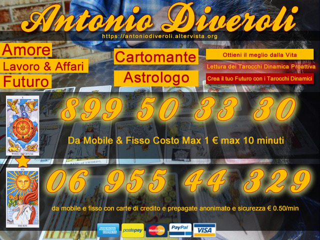 Cartomante Astrologo Antonio Diveroli
