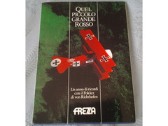 BARONE ROSSO QUEL PICCOLO GRANDE ROSSO libro a tiratura limitata copia num. 1679 di sole 2000 copie
