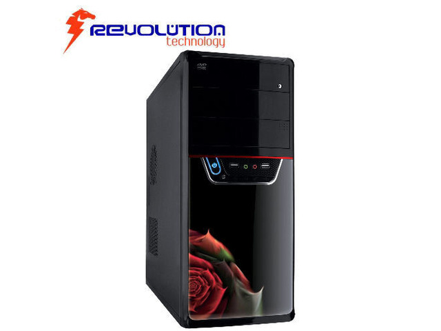 Case Cabinet PC Middle Tower ATX 550Watt Revolution Technology