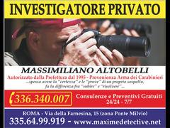 Investigatore Privato a Roma - Massimiliano Altobelli - 1