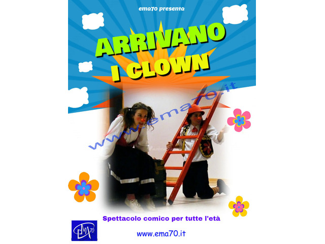 ARRIVANO I CLOWN