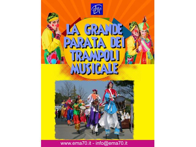 LA GRANDE PARATA DEI TRAMPOLI Musicale