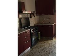 Cucina componibile color rosso