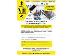 Addetto al Back Office Commerciale Estero