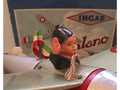 Ingap Giroplano in latta anno 1934