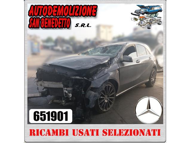 Ricambi auto MERCEDES BENZ A 180CDI 2013 651901
