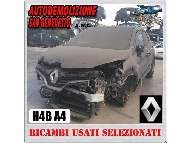 Ricambi auto RENAULT CAPTUR 900 B 2014 SIGLA H4BA4