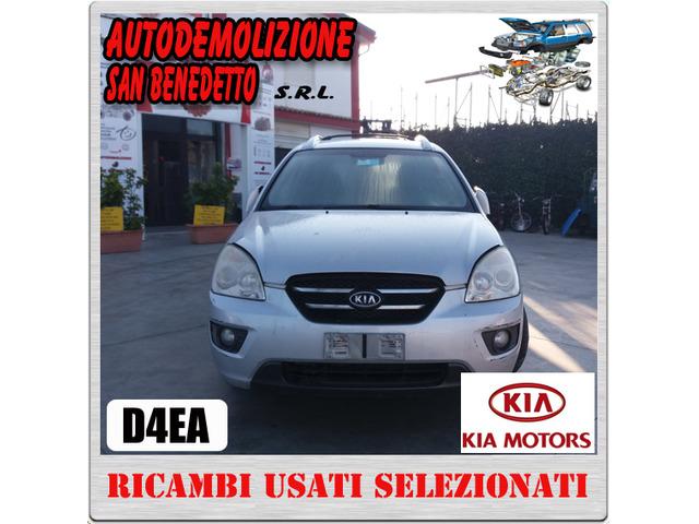 Ricambi auto KIA CARENS 2.0 CRDI 2008 SIGLA D4EA