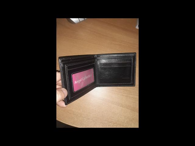 Portafoglio nero con porta monete nuovo - 2/3