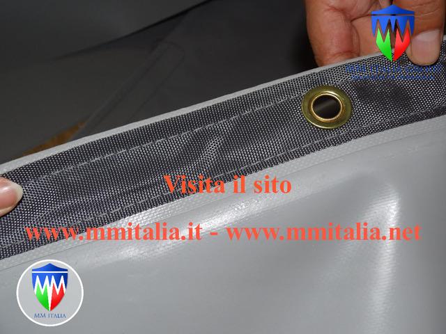 Tunnel Agricoli Agritunnel Professionali telo in pvc 720gr. mq. Ignifugo - 5