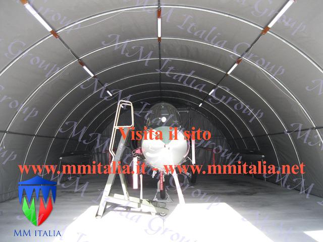 Tunnel Agricoli Agritunnel Professionali telo in pvc 720gr. mq. Ignifugo - 6