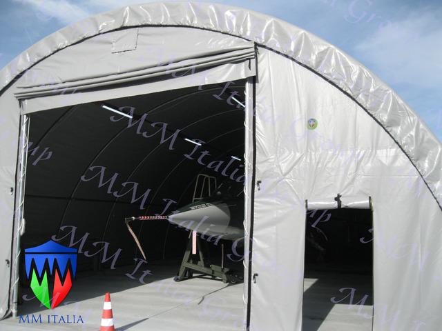 Tunnel Agricoli Agritunnel Professionali telo in pvc 720gr. mq. Ignifugo - 7