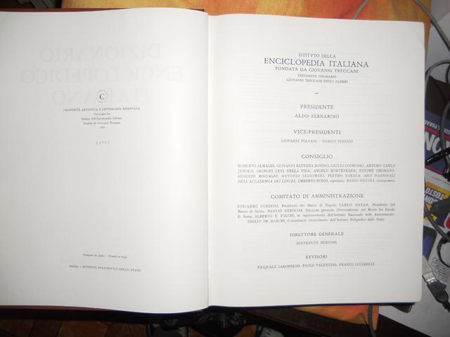 Dizionario Enciclopedico Italiano - Treccani ed. 1961 composto da 12 volumi