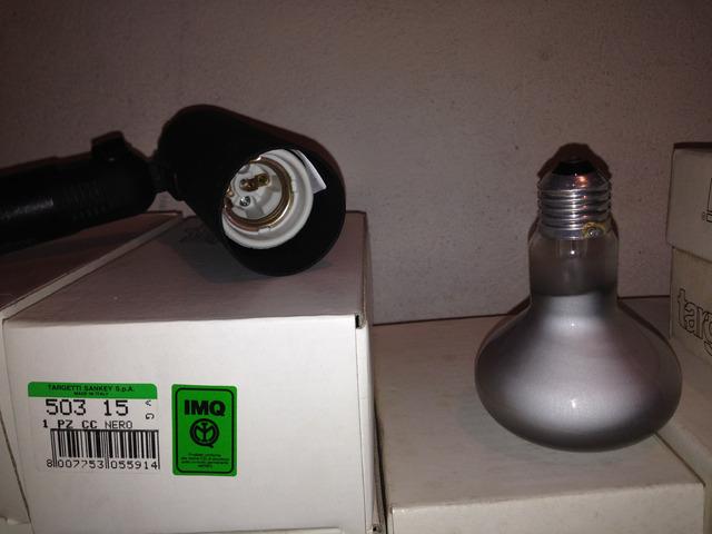 25 Lampade a riflettore OSRAM potenza 100 watt, attacco E27 - 6