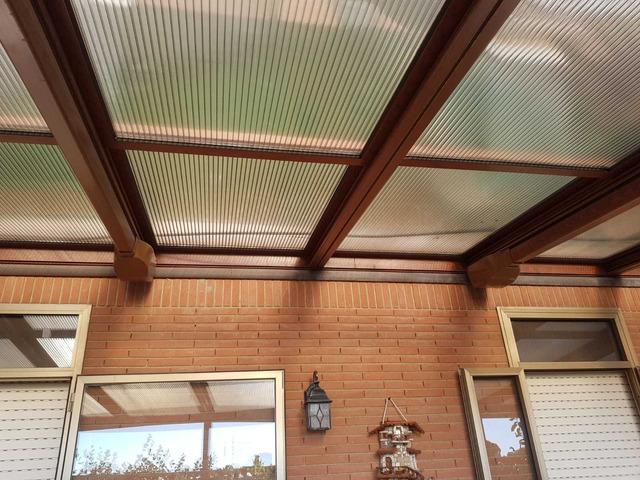 copertura per terrazzo o giardino in alluminio e policarbonato - 5